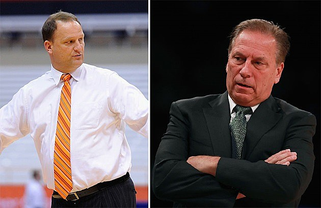 Tom Izzo, the irony apparently lost on him, has demanded Dan Dakich to apologize  for his comments that MSU fans are whiny.